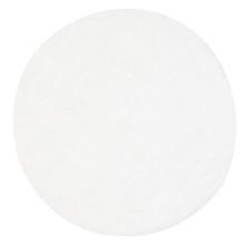 Chloe Soft Shag White 160cm Round