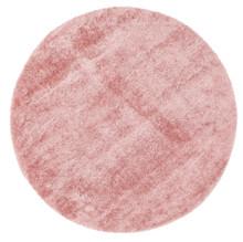 Chloe Soft Pink Shag 160cm Round
