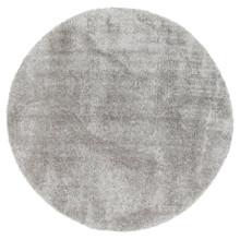 Chloe Soft Grey Shag 160cm Round