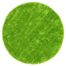 Chloe Soft Green Shag 160cm Round