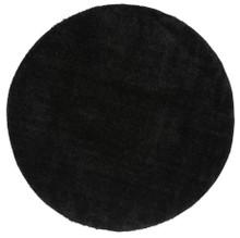Chloe Soft Black Shag 160cm Round
