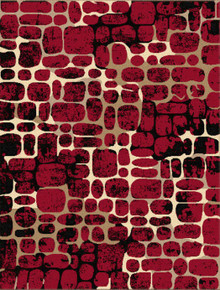 Abi Stone Red Rug