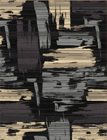 Abi Brush Black Rug