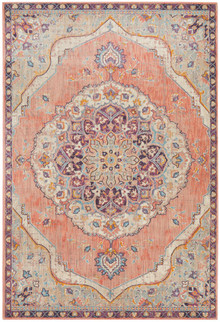 Ada Terracotta Medallion Rug