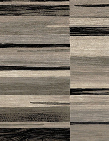 Boston Brown Stripe Rug