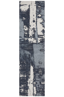 Cove Art Denim 80x400cm Runner