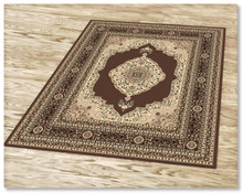 Ruby 6332 Brown Rug
