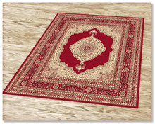 Ruby 6332 Red Rug