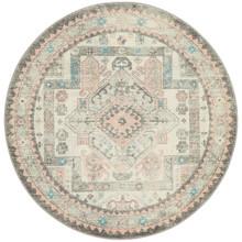 Avenue Silver Aztec 150cm Round