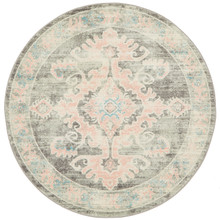 Avenue Art Grey 200cm Round