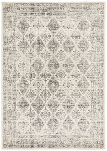Cara Aged Grey Wash Rug