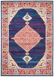 Cara Royal Blue Washed Rug