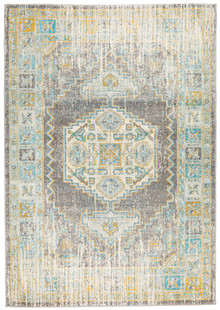 Cara Grey Washed Transitional Rug