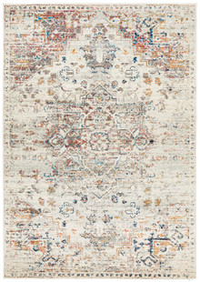 Cara Silver Design Wash Rug