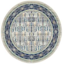 Cara Century Blue Wash 200cm Round