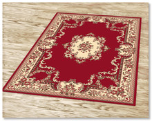 Ruby 6151 Red Rug