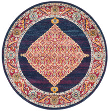 Cara Royal Blue 200cm Round