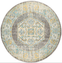 Cara Grey Washed 240cm Round