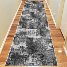 Aspen Brush Grey 80x300cm Runner