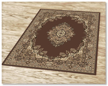 Ruby 6331 Brown Rug