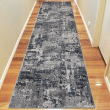 Aspen Grey Decor 80x300cm Runner