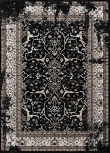Dynasty Classic Black Rug