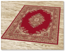 Ruby 6331 Red Rug