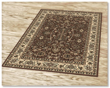 Ruby 6333 Brown Rug