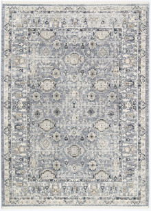 Leni Washed Blue Decor Rug