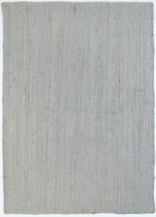 Organic Silver Jute Rug