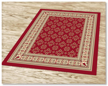 Ruby 6334 Red Rug
