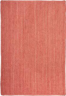 Ari Natural Jute Terracotta Rug