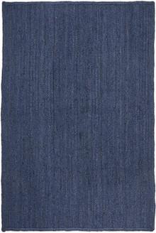 Ari Navy Blue Jute Rug