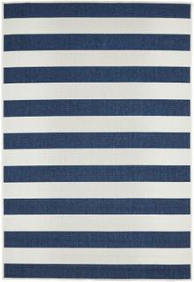 Breezy Navy Stripe Rug