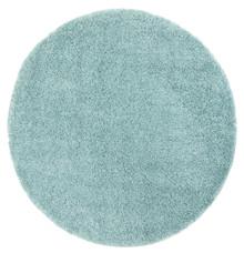 Lupa Turquoise 160cm Round Shaggy