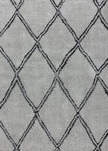 Aleni Plush Diamond Grey Shaggy