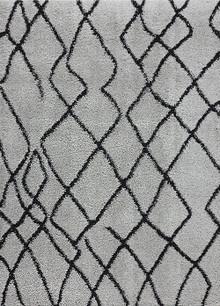 Aleni Plush Deco Grey Shaggy