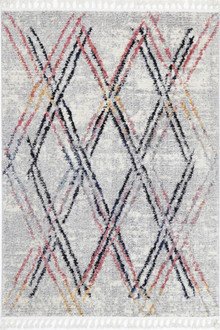 Maci Multi Diamond Rug