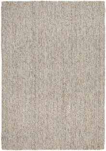 Arctic Grey Wool And Jute Rug