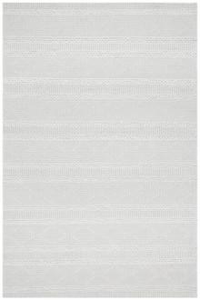 Brighton White Wool Rug