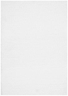 Nira Plush White Shag Rug