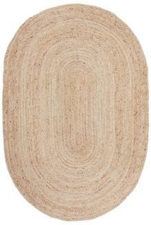 Ari Oval Natural Jute Rug
