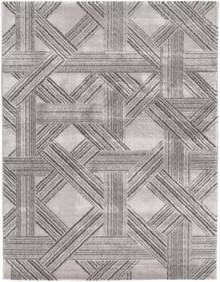 Sahi Dark Grey Trellis Rug