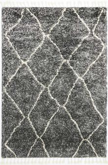 Ash Designer Charcoal Shaggy