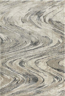 Urban Swirl Grey Rug