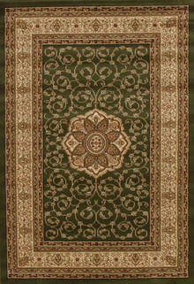 Heritage 3 Traditional Green Rug