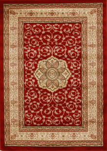 Heritage 3 Traditiona Red Rug