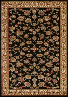 Heritage 2 Black Traditional Rug