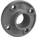 "1 1/4"" PVC Flange, Schedule 80, Solid Style, Slip"