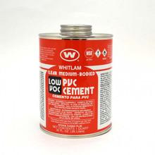 Whitlam Low VOC PVC Medium Bodied Cement - 1 Quart